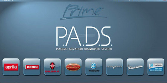 次世代診断機 P.A.D.S(Piaggio Advanced Diagnostic System)完備