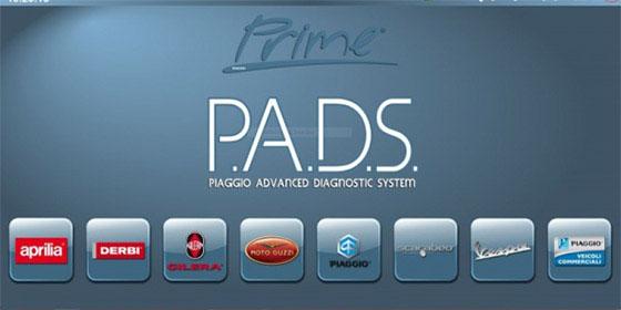 次世代診断機 P.A.D.S(Piaggio Advanced Diagnostic System)完備